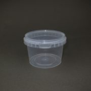 TOPPAC 365 ml x Ø105mm Plastic food container