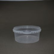 TOPPAC  400ml x Ø122mm Plastic food container