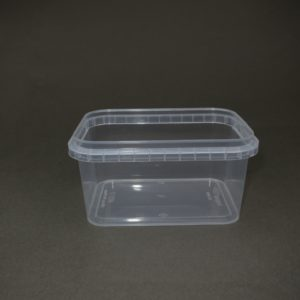TOPPAC 480ml Rectangle 105 x 192mm (side view)