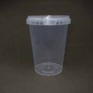 TOPPAC 670ml x Ø105mm Plastic food container