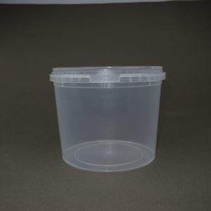 TOPPAC  800ml x Ø122mm Plastic food container