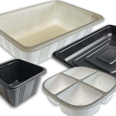 Film and Foil sealable plastic tubs