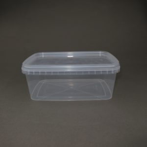 TOPPAC 1200ml Rectangle 192 x 129mm (side view)
