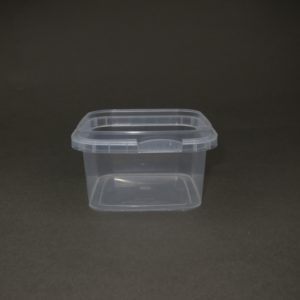 TOPPAC 280ml Square 105 x 105mm plastic container
