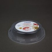 Muesli lid with IML decoration