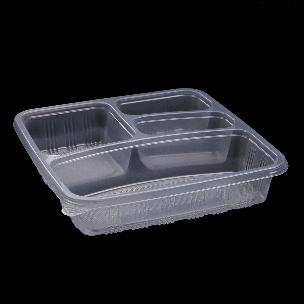 SKP 4 compartment plastic container